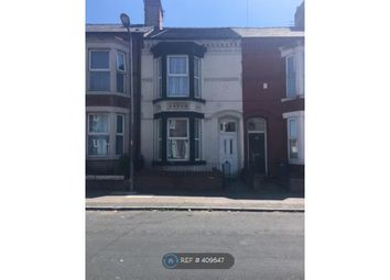 Thumbnail 4 bed terraced house to rent in Bedford Road, Bootle