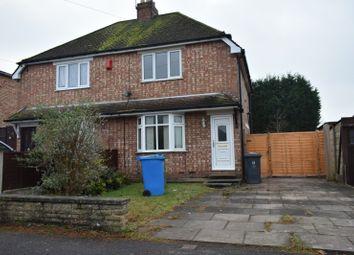Thumbnail 2 bedroom property to rent in Alexander Road, Codsall, Wolverhampton