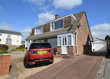 Thumbnail 3 bed semi-detached house for sale in Clittaford Road, Plymouth, Devon