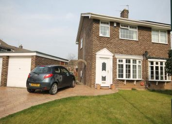 Thumbnail 3 bed semi-detached house to rent in Dunston Close, Guisborough