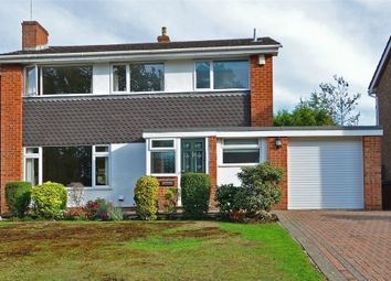 Thumbnail 4 bedroom detached house for sale in Croft Way, Frimley, Camberley, Surrey