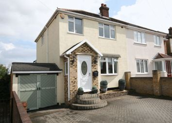 Thumbnail Semi-detached house for sale in Lawns Way, Collier Row, Romford