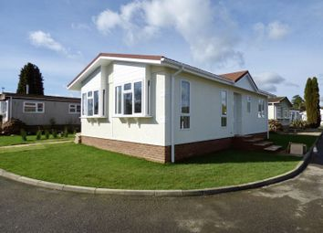 Thumbnail 2 bed mobile/park home for sale in Rickwood Park, Horsham Road, Beare Green, Dorking