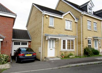 Thumbnail 3 bed end terrace house to rent in Segensworth Road, Titchfield, Fareham