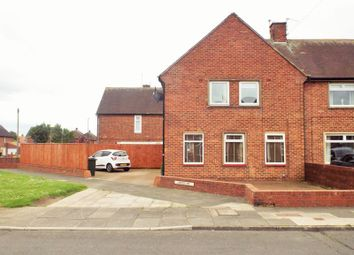 Thumbnail 3 bed semi-detached house to rent in Lorton Avenue, North Shields