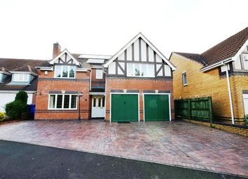 Thumbnail 5 bed detached house for sale in Chatsworth Park Avenue, Hanford, Stoke-On-Trent