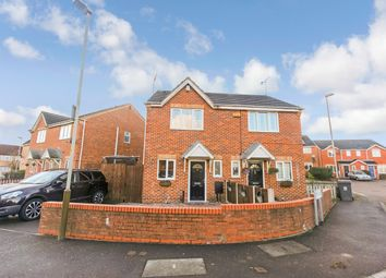Thumbnail 2 bed semi-detached house for sale in Hedgerow Road, Leicester