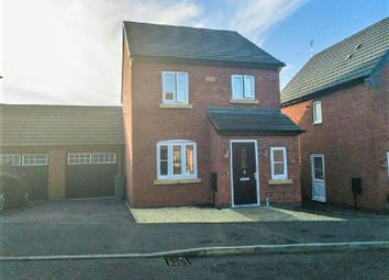 Thumbnail 3 bed detached house to rent in Mill Field Avenue, Countesthorpe, Leicestershire