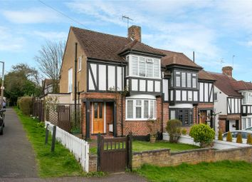 Thumbnail 3 bed semi-detached house for sale in Ashfield Avenue, Bushey, Hertfordshire