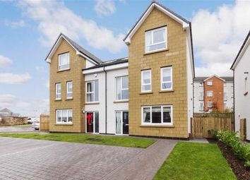 Thumbnail 4 bed semi-detached house for sale in Caitlin Gardens, Stewartfield, East Kilbride