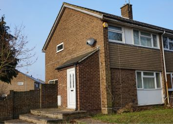Thumbnail 3 bed end terrace house to rent in Butely Road, Luton