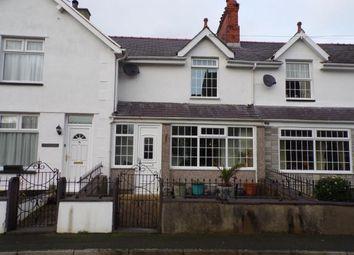 Thumbnail 2 bed terraced house for sale in Glanrhyd Terrace, Dinas, Caernarfon