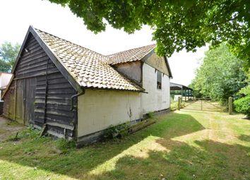 Thumbnail 4 bedroom barn conversion for sale in Hoxne Road, Denham, Eye