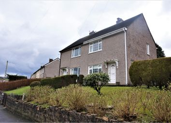 Thumbnail 2 bed semi-detached house for sale in Hill View, Blackwood
