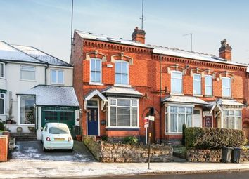 Thumbnail 3 bed end terrace house for sale in Warwick Road, Acocks Green, Birmingham, West Midlands