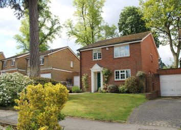 Thumbnail 4 bed detached house to rent in Marlborough Drive, Weybridge