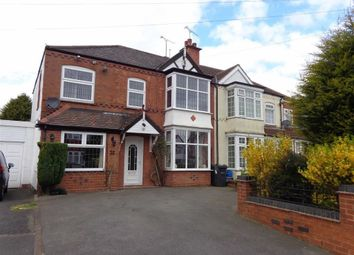 Thumbnail 5 bedroom semi-detached house for sale in Church Road, Yardley, Birmingham
