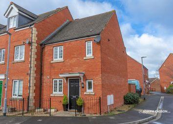 Thumbnail 2 bed end terrace house for sale in Bowline Close, Bridgwater