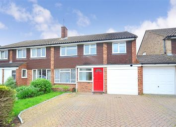 Thumbnail 4 bed semi-detached house for sale in Canberra Gardens, Sittingbourne, Kent