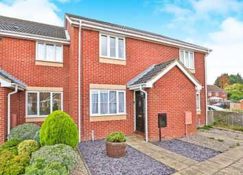 Thumbnail 2 bedroom terraced house for sale in Bellview Close, Briston, Melton Constable