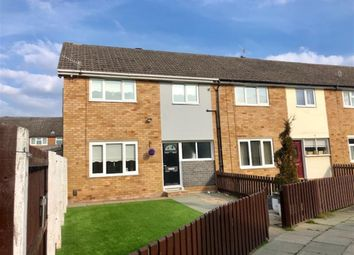 Thumbnail 3 bedroom end terrace house for sale in Arley Close, Prenton