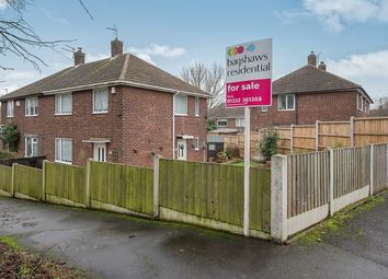 Thumbnail 3 bed semi-detached house for sale in Ullswater Close, Breadsall Hilltop, Derby