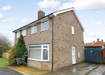 Thumbnail 2 bedroom semi-detached house for sale in Gormire Close, Thirsk