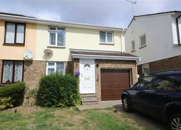 Thumbnail 4 bed semi-detached house for sale in Lambert Close, Freshbrook, Swindon