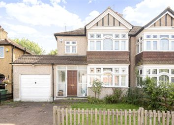Thumbnail 4 bedroom semi-detached house for sale in Leighton Avenue, Pinner, Middlesex