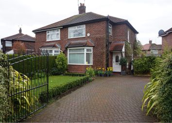 Thumbnail 3 bed semi-detached house for sale in Norleigh Road, Manchester