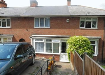 Thumbnail 2 bed terraced house to rent in Cheverton Road, Northfield, Birmingham