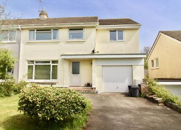 Thumbnail 4 bed semi-detached house for sale in Mongleath Avenue, Falmouth