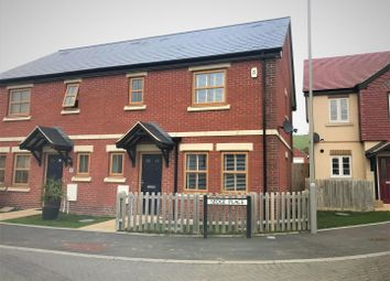 Thumbnail 3 bed semi-detached house for sale in Sedge Place, Weymouth