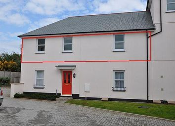 Thumbnail 2 bed flat for sale in Laity Fields, Camborne