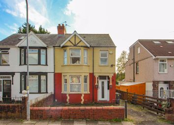 Thumbnail 3 bed semi-detached house for sale in Bwlch Road, Fairwater, Cardiff