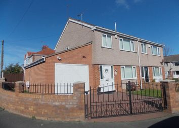 Thumbnail 3 bedroom semi-detached house for sale in Knowsley Avenue, Rhyl