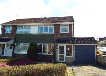 Thumbnail 3 bed semi-detached house for sale in Avonmead, Greenmeadow, Swindon, Wiltshire
