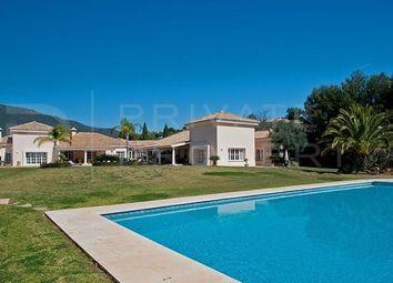 Thumbnail 9 bed villa for sale in La Zagaleta, Benahavís, Málaga, Spain