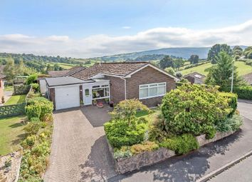 Thumbnail 4 bed detached bungalow for sale in Hill View Estate, Brecon Road, Builth Wells