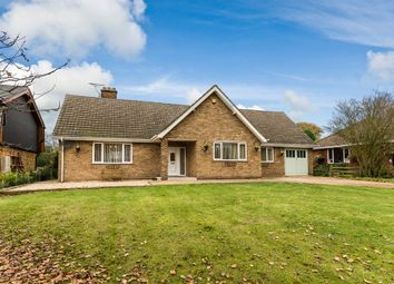 Thumbnail 3 bed detached bungalow for sale in Hillcrest, 29 Willingham Road, Lea, Lincolnshire