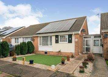 Thumbnail 2 bed semi-detached bungalow for sale in Bramble Drive, Hailsham