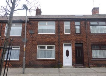 Thumbnail 3 bed terraced house to rent in St. Oswalds Street, Hartlepool