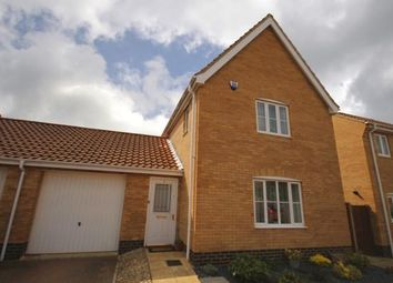 Thumbnail 3 bed detached house to rent in Elderflower Mews, Norwich