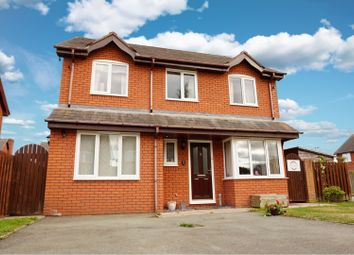 Thumbnail 4 bed detached house for sale in Willow Close, Llanymynech