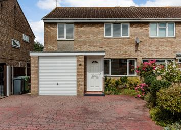 Thumbnail 3 bed semi-detached house for sale in Pondholton Drive, Witham, Essex