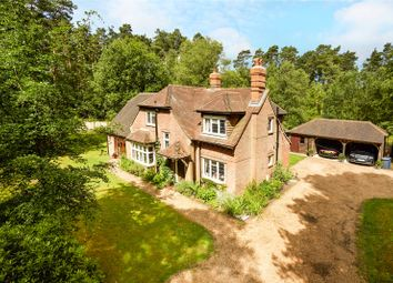 Thumbnail 4 bed detached house for sale in Thursley Road, Elstead, Godalming, Surrey