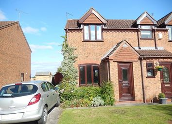Thumbnail 2 bed semi-detached house to rent in Fieldside, Blyton, Gainsborough
