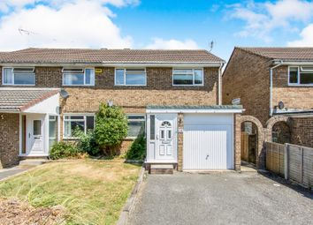 Thumbnail 3 bedroom semi-detached house for sale in Manton Road, Hamworthy, Poole