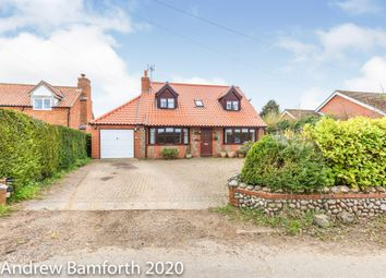 Thumbnail 4 bed detached house for sale in Weybourne Road, Bodham, Holt
