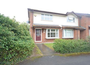 Thumbnail 2 bed semi-detached house to rent in Sunderland Close, Woodley, Reading